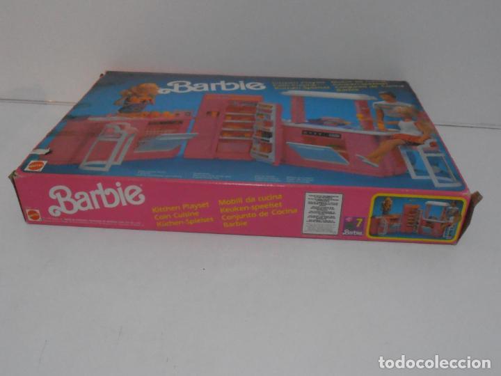 Barbie y Ken: BARBIE CONJUNTO DE COCINA, CAJA ORIGINAL, CASI COMPLETA, MATTEL AÑOS 80, MUY BUEN ESTADO - Foto 10 - 232796740