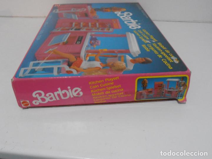 Barbie y Ken: BARBIE CONJUNTO DE COCINA, CAJA ORIGINAL, CASI COMPLETA, MATTEL AÑOS 80, MUY BUEN ESTADO - Foto 12 - 232796740