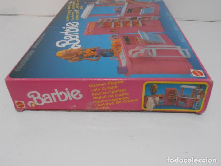 Barbie y Ken: BARBIE CONJUNTO DE COCINA, CAJA ORIGINAL, CASI COMPLETA, MATTEL AÑOS 80, MUY BUEN ESTADO - Foto 13 - 232796740