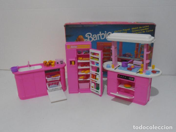 Barbie y Ken: BARBIE CONJUNTO DE COCINA, CAJA ORIGINAL, CASI COMPLETA, MATTEL AÑOS 80, MUY BUEN ESTADO - Foto 14 - 232796740