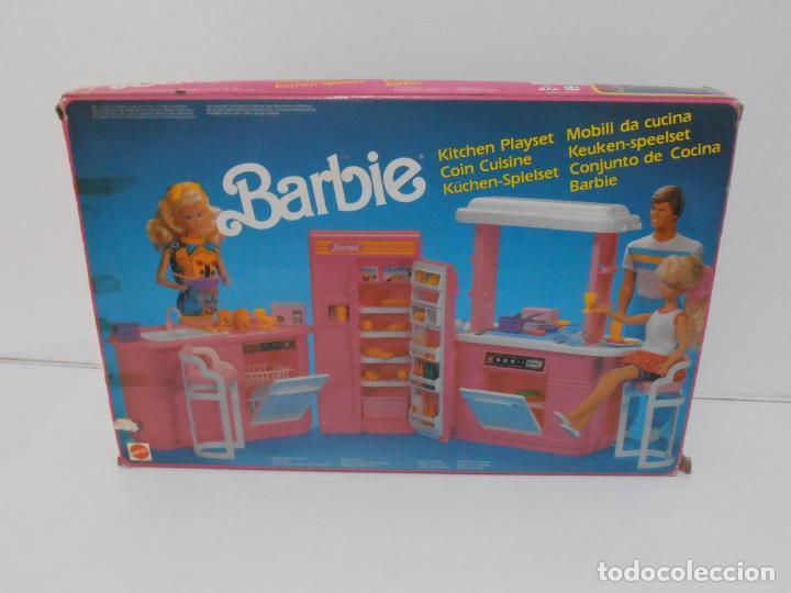 Barbie y Ken: BARBIE CONJUNTO DE COCINA, CAJA ORIGINAL, CASI COMPLETA, MATTEL AÑOS 80, MUY BUEN ESTADO - Foto 15 - 232796740