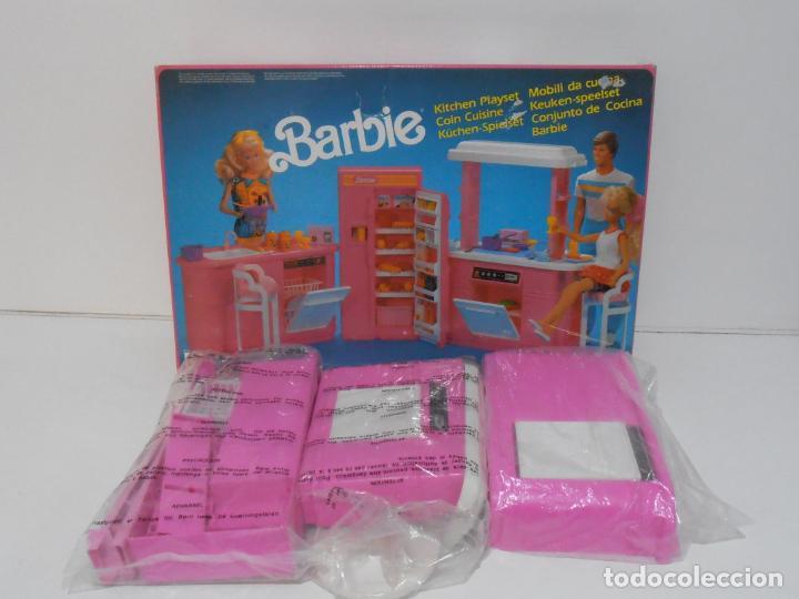 Barbie y Ken: BARBIE CONJUNTO DE COCINA, CAJA ORIGINAL, CASI COMPLETA, MATTEL AÑOS 80, MUY BUEN ESTADO - Foto 16 - 232796740
