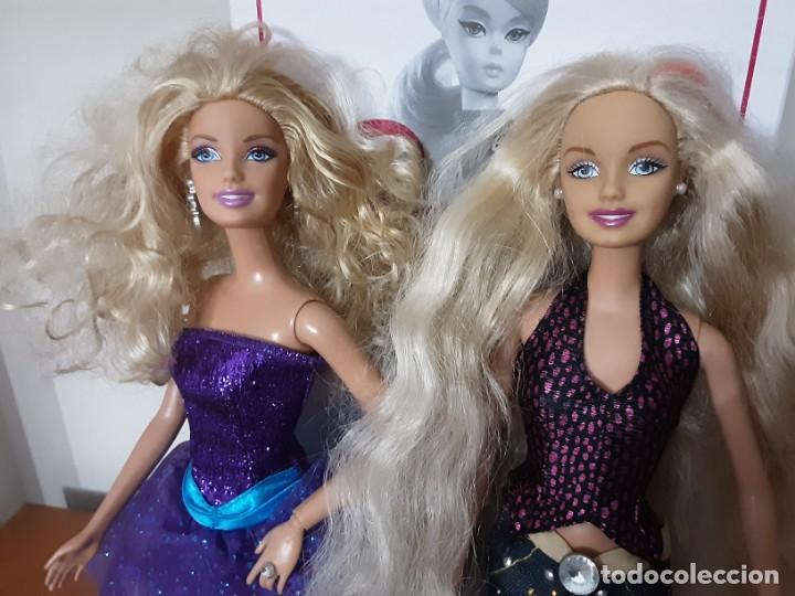 LOTE DOS BARBIE (Juguetes - Muñeca Extranjera Moderna - Barbie y Ken - Vestidos y Accesorios)