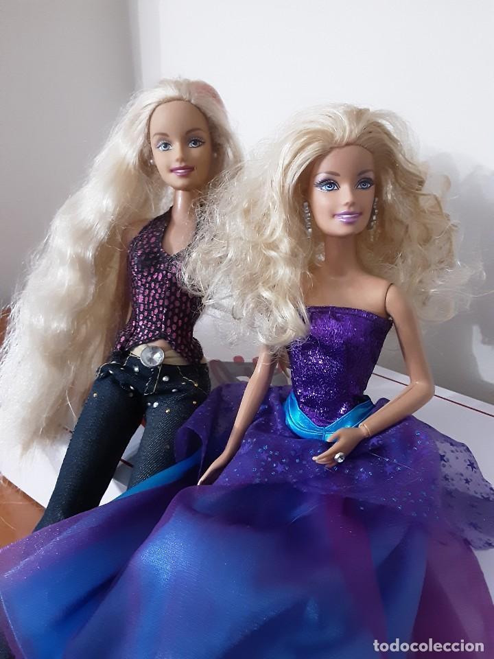 Barbie y Ken: Lote dos barbie - Foto 2 - 233889595