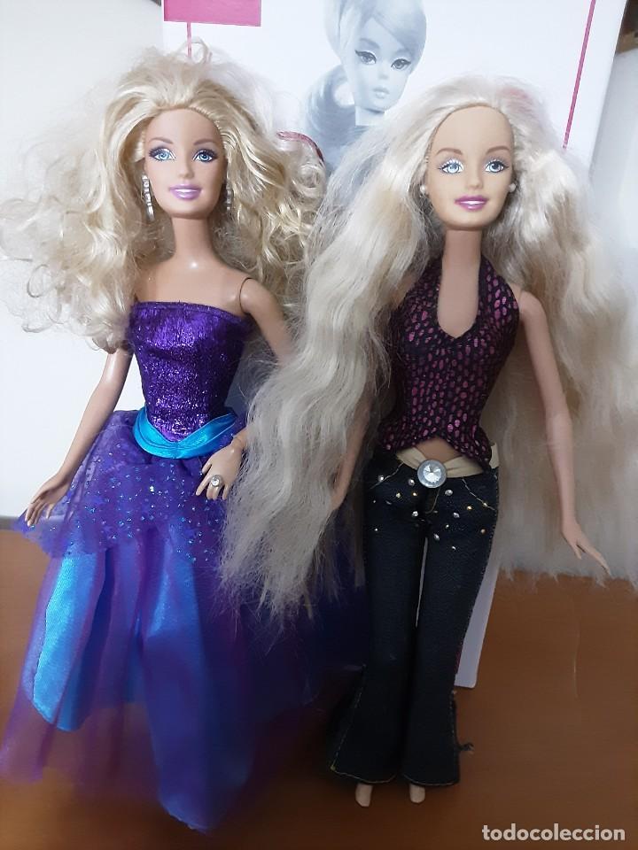 Barbie y Ken: Lote dos barbie - Foto 3 - 233889595