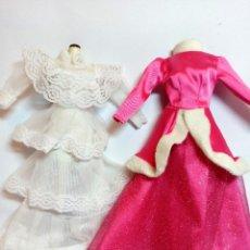 Barbie y Ken: ROPA BARBIE Nº75 2 VESTIDO DE BARBIE. Lote 234559090