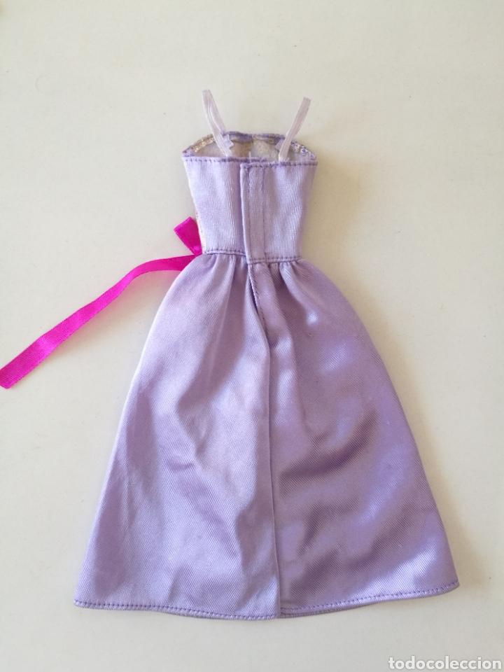 Barbie y Ken: Barbie vestido fiesta tirantes morado violeta Fashion gift set 1993 easy to dress años 90 - Foto 3 - 234922655