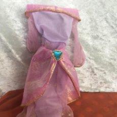 Barbie y Ken: VESTIDO PRINCESA BARBIE ORIGINAL JASMINE AÑOS 90. Lote 236110375
