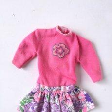 Barbie y Ken: BARBIE VESTIDO ROSA CON FLORES MY FIRST FASHIONS 1992 AÑOS 90. Lote 236248975