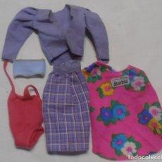 Barbie y Ken: FALDA Y PAREO DISEÑO ORIGINAL BARBIE. Lote 241323510