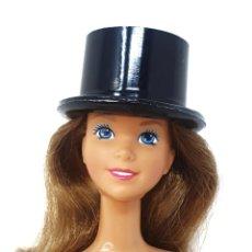 Barbie y Ken: SOMBRERO DE COPA TALLA BARBIE MADE IN HONG KONG. Lote 245600340