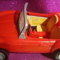 Barbie y Ken: COCHE DE BARBIE ROJO CABRIOLET DEPORTIVO KEN SKIPPER MATTEL. Lote 246607685