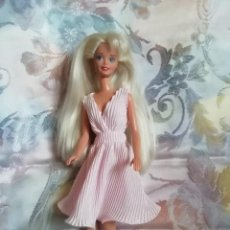 Barbie y Ken: PRECIOSO CONJUNTO DE VESTIDO Y ZAPATOS PARA BARBIE O MUÑECA SIMILAR. Lote 251652695
