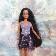 Barbie y Ken: PRECIOSO CONJUNTO DE VESTIDO Y ZAPATOS PARA BARBIE O MUÑECA SIMILAR. Lote 251986265