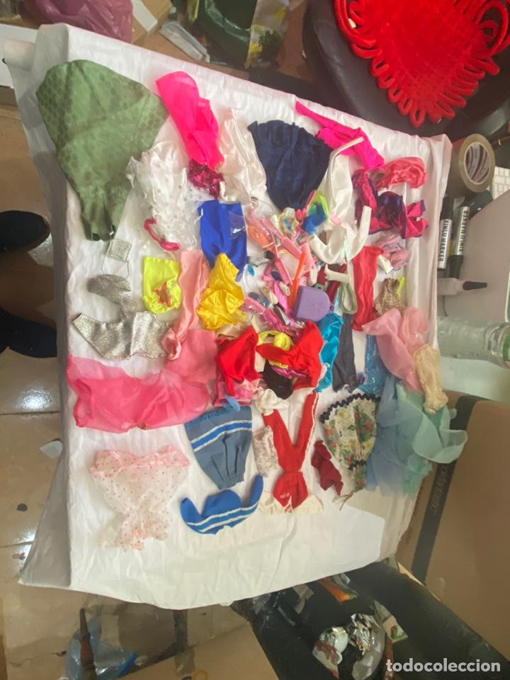 Barbie y Ken: Gran lote vestidos antiguos barbie originales con accesorios. Ver fotos - Foto 3 - 253013975