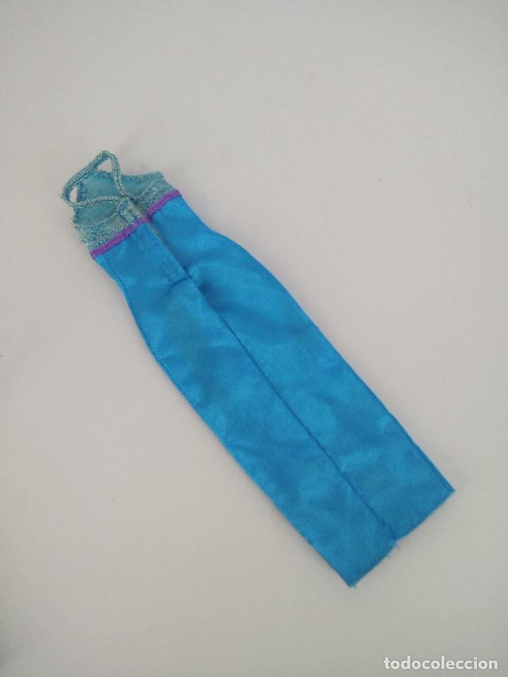 Barbie y Ken: Vestido largo color azul original Barbie Genuine - Mattel, años 90 - Foto 2 - 256077485