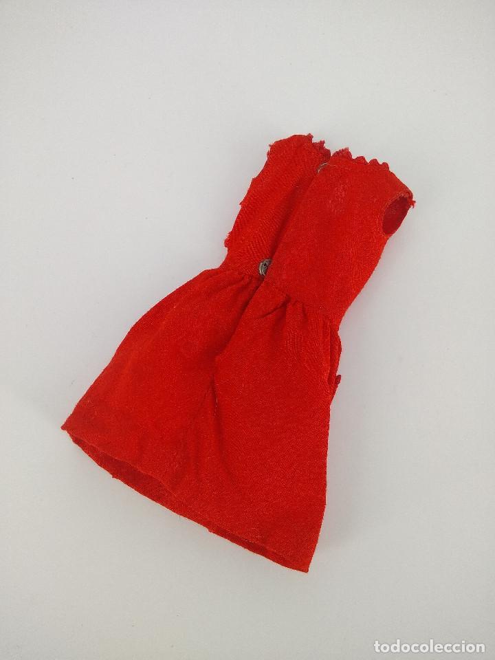 Barbie y Ken: Vestido original Skipper vintage #1901 Red Sensation - Mattel, 1964 - Foto 2 - 256078425