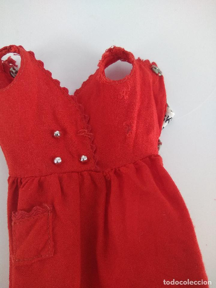 Barbie y Ken: Vestido original Skipper vintage #1901 Red Sensation - Mattel, 1964 - Foto 3 - 256078425