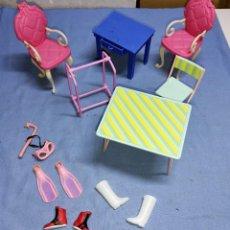 Barbie y Ken: LOTE DE ACCESORIOS DE MUÑECA BARBIE DE MATTEL ORIGINALES. Lote 259772035