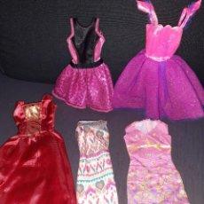 Barbie y Ken: LOTE VESTIDOS ORIGINALES BARBIE. Lote 262656445