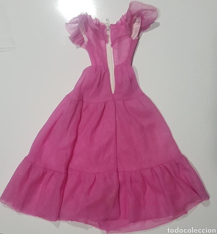 Barbie y Ken: Vestido hecho para Muñeca Barbie Supersize rosa pink dress outfit super size - Foto 2 - 262823850