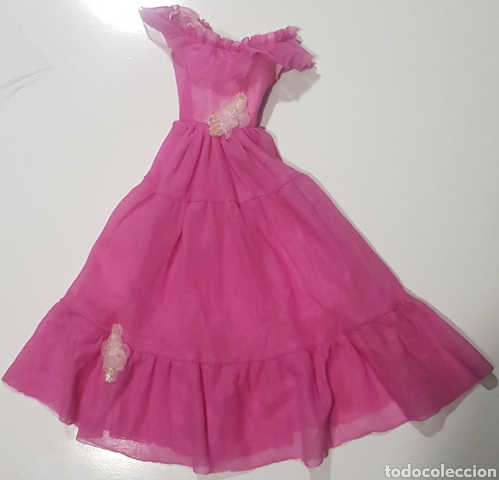 VESTIDO HECHO PARA MUÑECA BARBIE SUPERSIZE ROSA PINK DRESS OUTFIT SUPER SIZE (Juguetes - Muñeca Extranjera Moderna - Barbie y Ken - Vestidos y Accesorios)