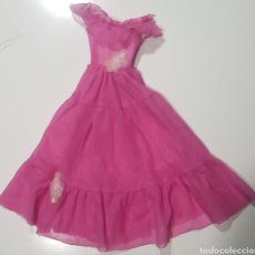Barbie y Ken: VESTIDO CONFECCIONADO PARA MUÑECA BARBIE SUPERSIZE ROSA PINK DRESS OUTFIT SUPER SIZE. Lote 262823850