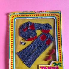 Barbie y Ken: CONJUNTO DE TANYA ESTILO BARBIE AÑOS 70. Lote 265380159