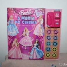 Barbie y Ken: BARBIE LIBRO CON PROYECTOR Y PELÍCULAS CON 4 CUENTOS - AÑO 2004 - A FUNCIONAR A PILAS - BUEN ESTADO. Lote 266331023
