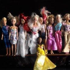 Barbie y Ken: BONITA COLECCION MUÑECAS BARBIE.. Lote 268408314
