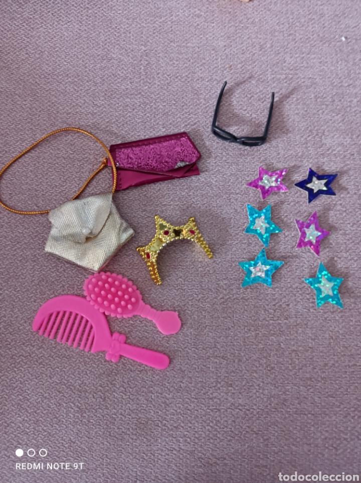 LOTE ACCESORIOS BARBIE MATTEL (Juguetes - Muñeca Extranjera Moderna - Barbie y Ken - Vestidos y Accesorios)