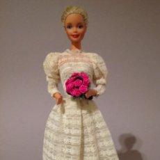 Barbie y Ken: COLECCION NOVIAS VESTIDO DE NOVIA, BODA, DE Y PARA BARBIE. Lote 270399808