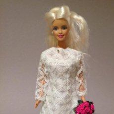 Barbie y Ken: COLECCION NOVIAS VESTIDO DE NOVIA, BODA, DE Y PARA BARBIE. Lote 270399848