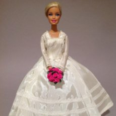 Barbie y Ken: COLECCION NOVIAS VESTIDO DE NOVIA, BODA, DE Y PARA BARBIE. Lote 270399908