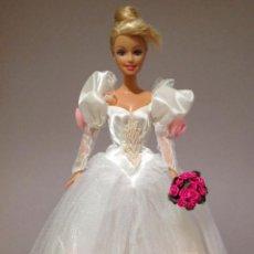 Barbie y Ken: COLECCION NOVIAS VESTIDO DE NOVIA, BODA, DE Y PARA BARBIE. Lote 270400003