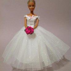 Barbie y Ken: COLECCION NOVIAS VESTIDO DE NOVIA, BODA, DE Y PARA BARBIE. Lote 270400198