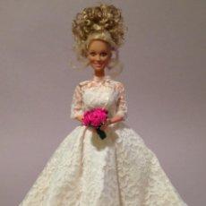 Barbie y Ken: COLECCION NOVIAS VESTIDO DE NOVIA, BODA, DE Y PARA BARBIE. Lote 270400323