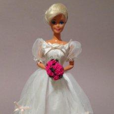 Barbie y Ken: COLECCION NOVIAS VESTIDO DE NOVIA, BODA, DE Y PARA BARBIE. Lote 270400428