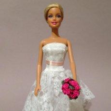 Barbie y Ken: COLECCION NOVIAS VESTIDO DE NOVIA, BODA, DE Y PARA BARBIE. Lote 270400488