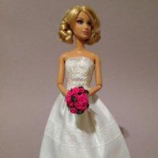 Barbie y Ken: COLECCION NOVIAS VESTIDO DE NOVIA, BODA, DE Y PARA BARBIE. Lote 270400508