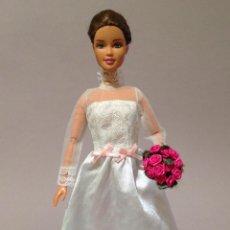 Barbie y Ken: COLECCION NOVIAS VESTIDO DE NOVIA, BODA, DE Y PARA BARBIE. Lote 270400523