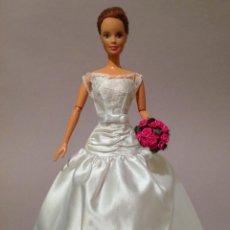 Barbie y Ken: COLECCION NOVIAS VESTIDO DE NOVIA, BODA, DE Y PARA BARBIE. Lote 270400533