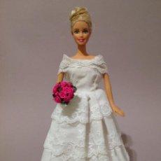 Barbie y Ken: COLECCION NOVIAS VESTIDO DE NOVIA, BODA, DE Y PARA BARBIE. Lote 270400578