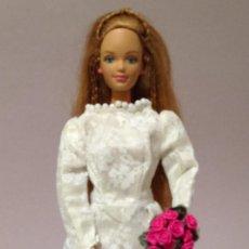 Barbie y Ken: COLECCION NOVIAS VESTIDO DE NOVIA, BODA, DE Y PARA BARBIE. Lote 270400673