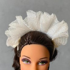 Barbie y Ken: ACCESORIO BARBIE TOCADO DE NOVIA. Lote 276755728