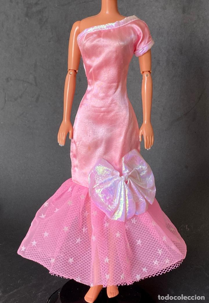 VESTIDO LARGO BARBIE (Juguetes - Muñeca Extranjera Moderna - Barbie y Ken - Vestidos y Accesorios)