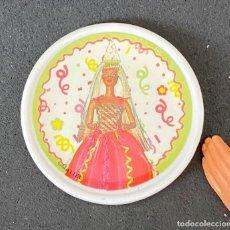 Barbie y Ken: ACESORIOS DE COCINA BARBIE PLATO DECORATIVO. Lote 277133733