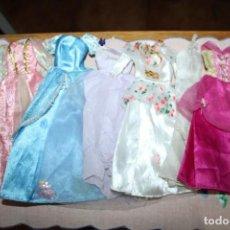 Barbie y Ken: LOTE DE 6 VESTIDOS PARA BARBIE O SIMILARES. Lote 278605623