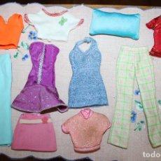 Barbie y Ken: LOTE DE 10 PIEZAS ROPA PARA BARBIE O SIMILARES. Lote 278605923