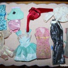 Barbie e Ken: LOTE DE 10 PIEZAS ROPA PARA BARBIE O SIMILARES. Lote 278608853